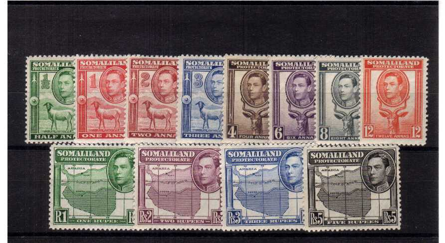 A fine mounted mint set of twelve.<br/><b>XAX</b>