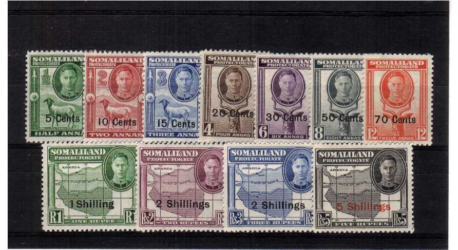 A superb unmounted mint set of eleven.<br/><b>ZKG</b>