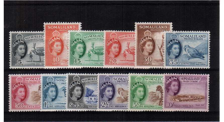 Superb unmounted mint set of twelve.<br/><b>QBQ</b>