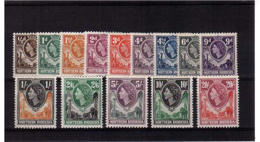Superb unmounted mint set of fourteen.<br/><b>XYX</b>