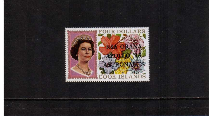 $4 Definitive stamp WITHOUT security markings superb unmounted mint. SG Cat £28