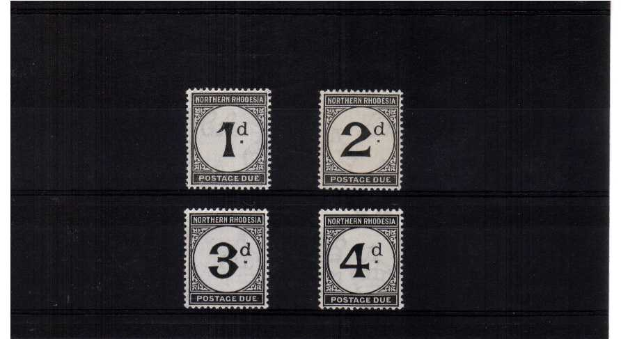 A superb unmounted mint set of four.<br/><b>ZKH</b>