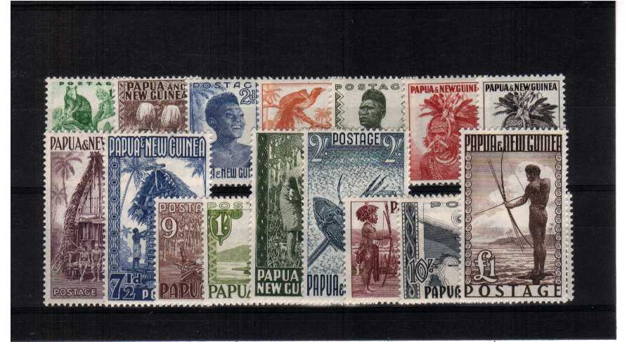 A superb unmounted mint set of sixteen.<br><b>QMQ.</b>