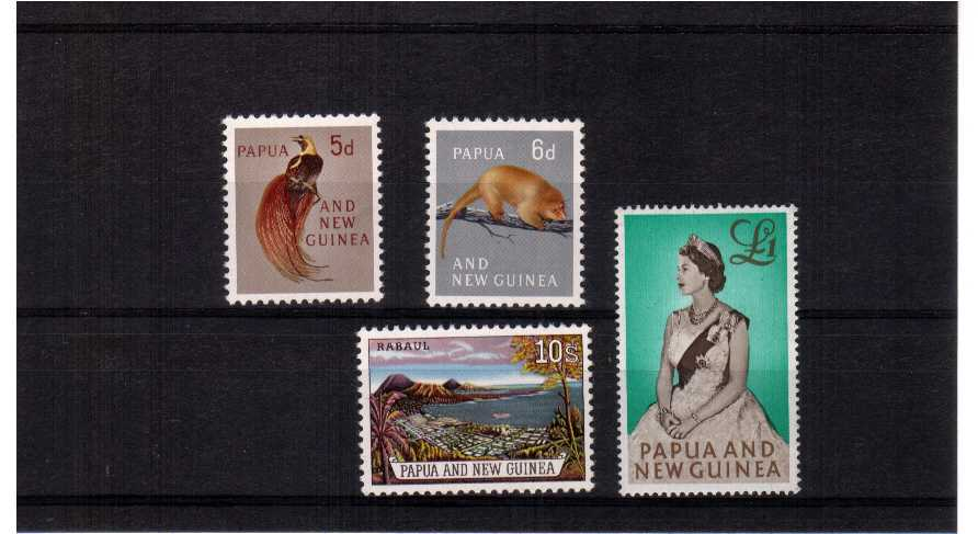 A superb unmounted mint set of four.<br/><b>UEU</b>