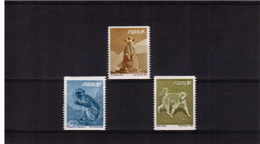 Coils set of three superb unmounted mint