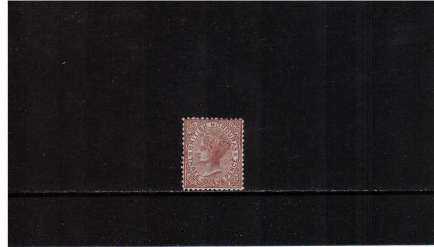 3d Red-Brown Watermark Crown CC - Perforation 12½ -lightly mounted mint. SG Cat £140