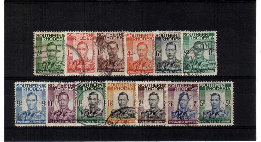 A fine used set of thirteen.<br><b>ZKP</b>