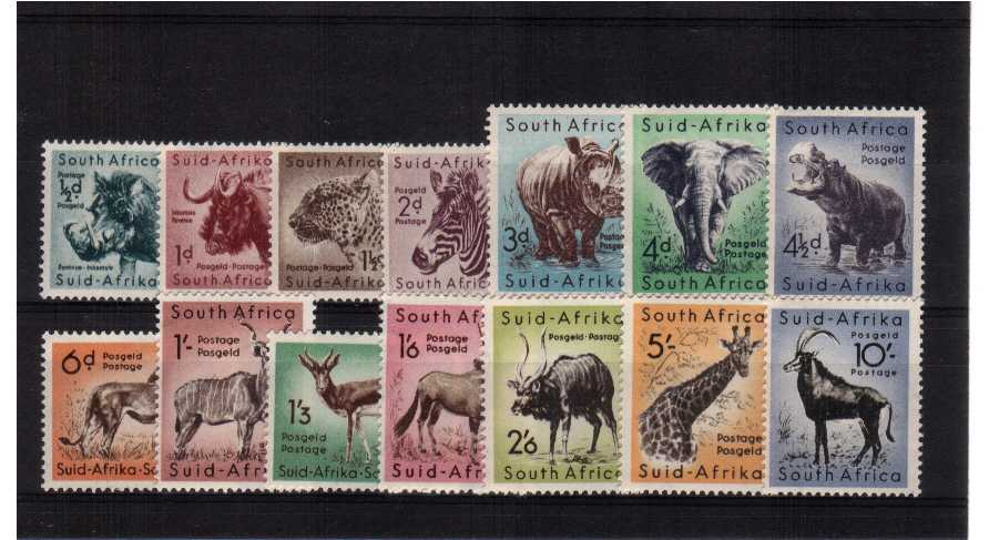 A superb unmounted mint set of fourteen.<br/><b>UHU</b>