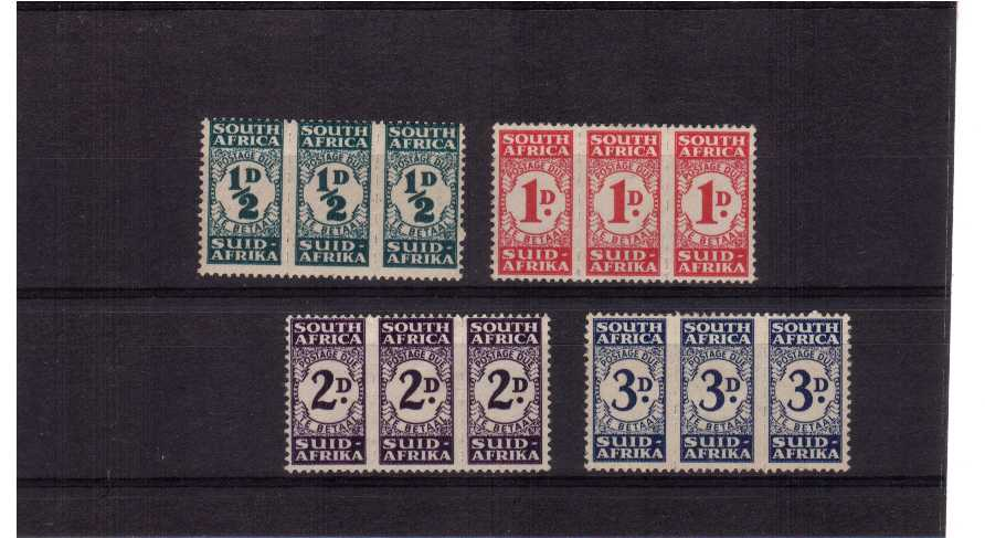 A superb unmounted mint set of four.<br/><b>QJQ</b>