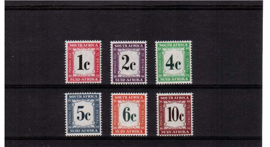 A superb unmounted mint set of six.