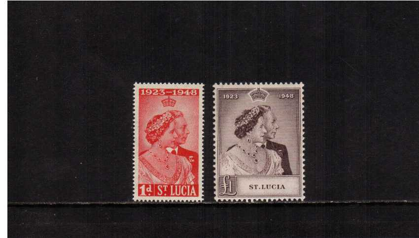 the 1948 Royal Silver Wedding set of two superb unmounted mint.<br/><b>SEARCH CODE: 1948RSW</b><br/><b>QDQ</b>