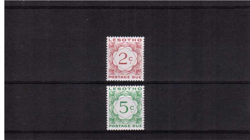 Superb unmounted mint set of two.