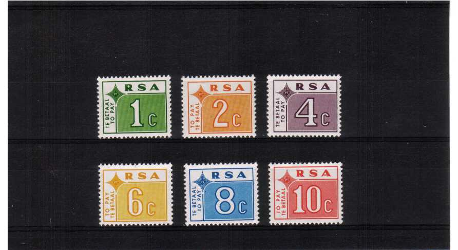 A superb unmounted mint set of six.<br/><b>ZKP</b>