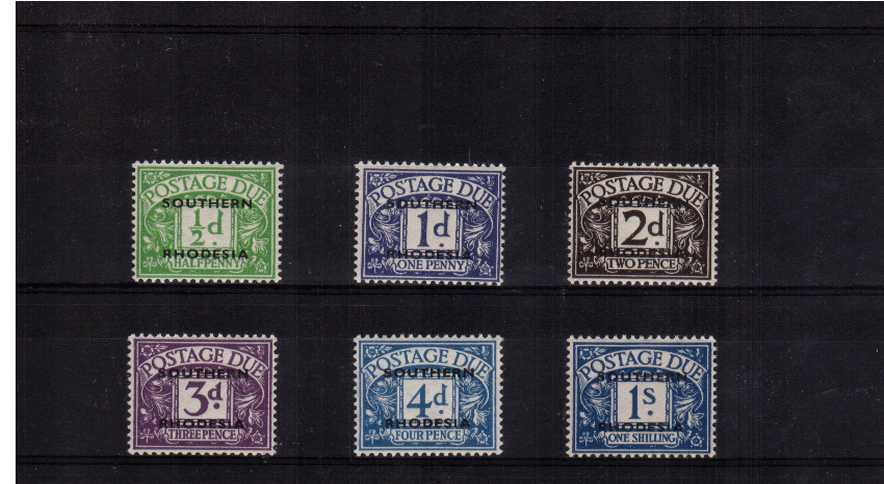 Superb unmounted mint set of six.<br/><b>UEU</b>
