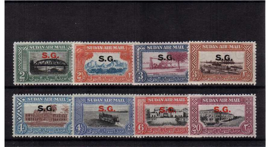 A superb unmounted mint set of eight.<br/><b>UAU</b>