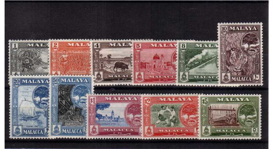 A superb unmounted mint set of eleven.<br><b>UDX</b>