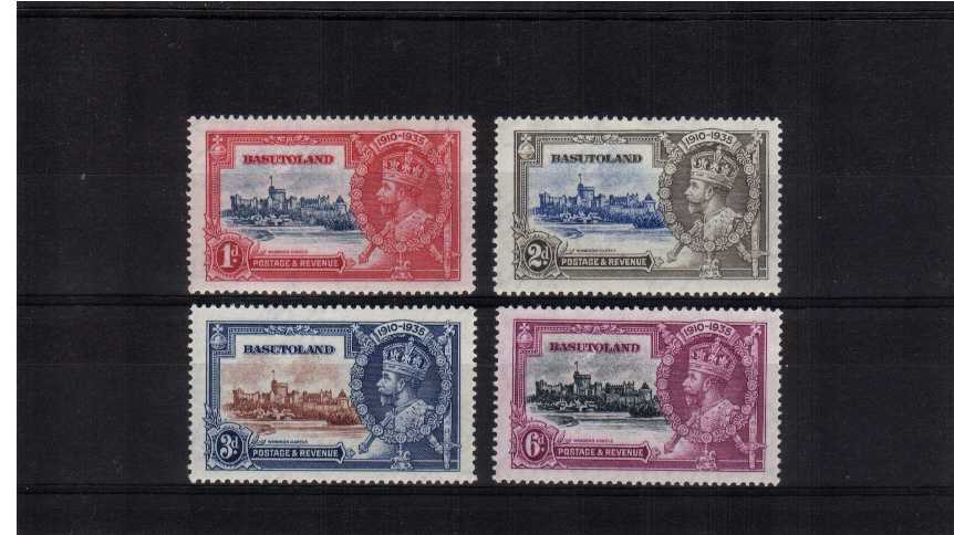 Silver Jubilee set of four superb unmounted mint.<br/><b>SEARCH CODE: 1935JUBILEE</b><br/><br/><b>QVQ</b>