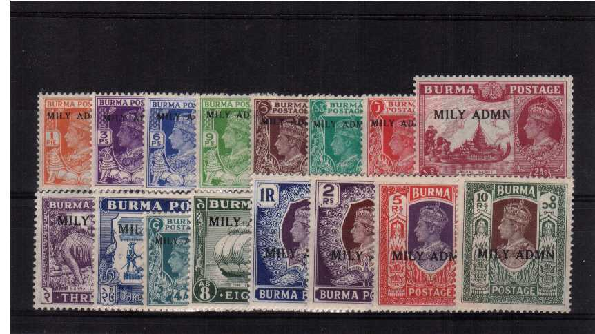 Superb unmounted mint set of sixteen.<br/><b>QAQ</b>