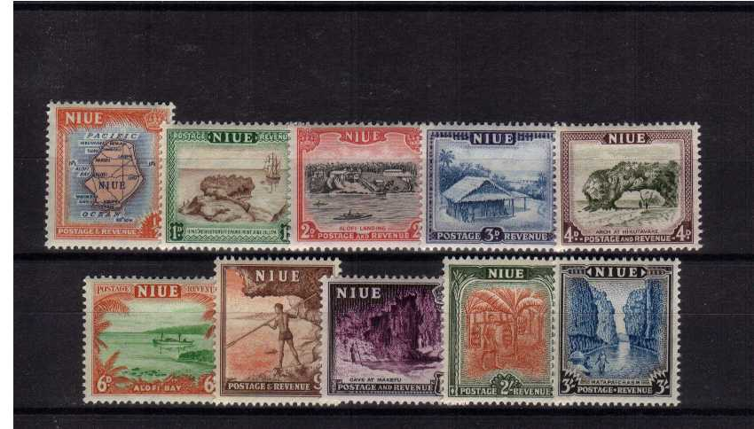 Island Life - set of ten superb unmounted mint.<br/><b>XUX</b>