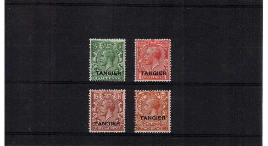 A superb unmounted mint set of four.<br/><b>QFX</b>
