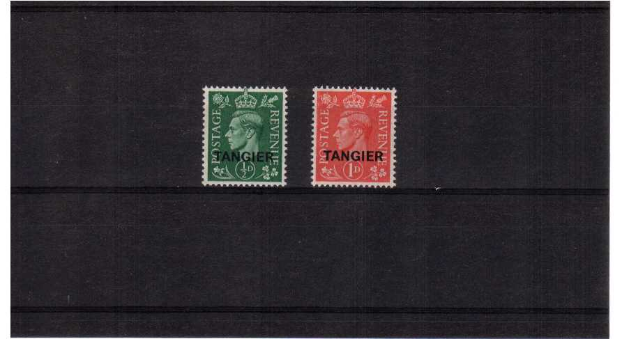 Superb unmounted mint ''Pale Colours'' set of two.<br/><b>QFX</b>