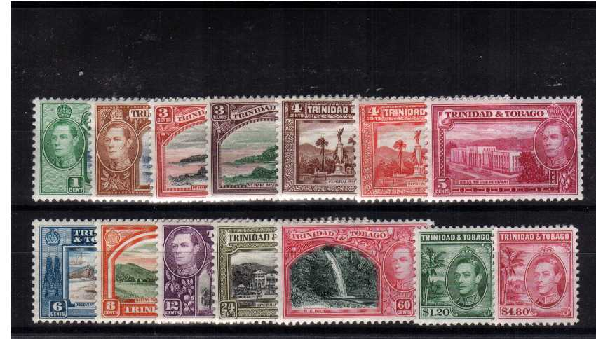 A superb unmounted mint set of fourteen.<br/><b>XUX</b>