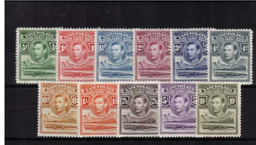 A superb unmounted mint set of eleven.<br><b>XZX</b>