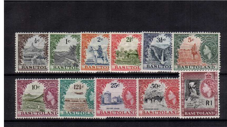 Superb unmounted mint set of eleven.<br/><b>ZKB</b>