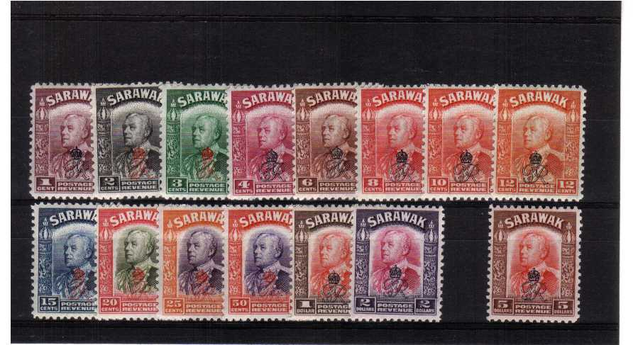 Superb unmounted mint set of fifteen.<br><b>QNQ</b>
