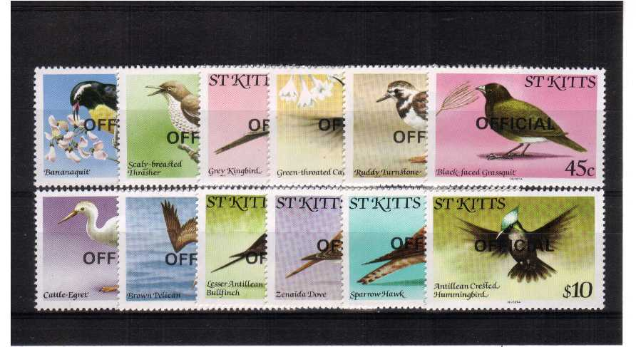 superb unmounted mint set of 12