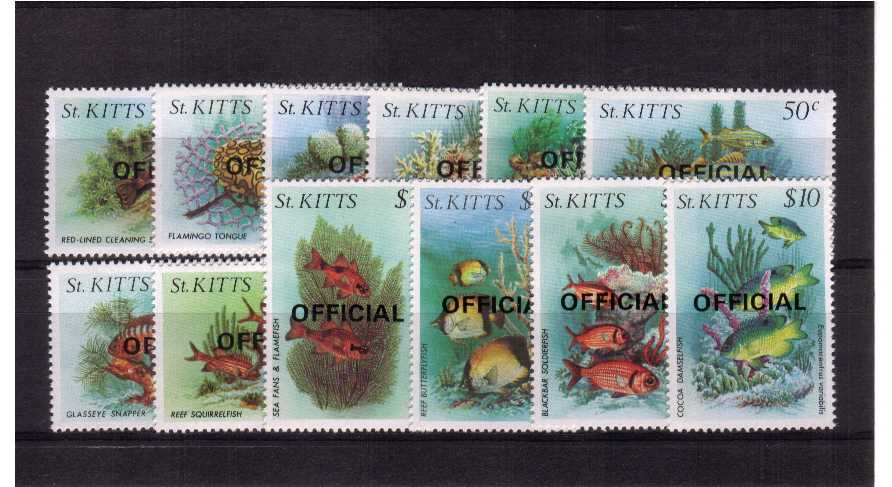superb unmounted mint set of twelve.