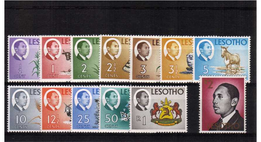 Superb unmounted mint set of thirteen.