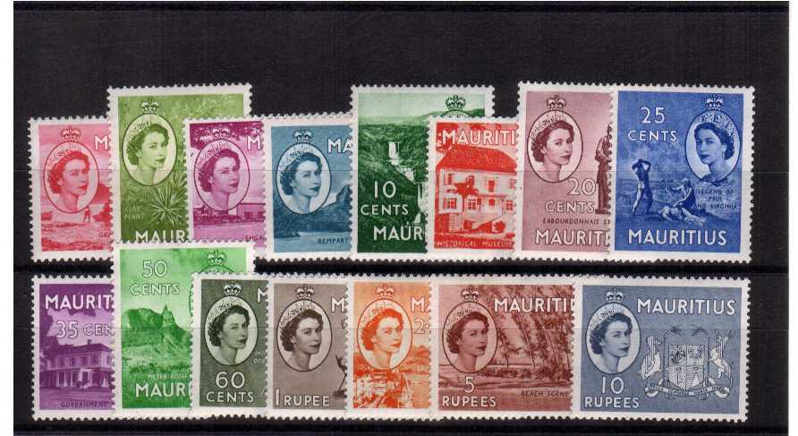 A superb unmounted mint set of fifteen.<br/><b>QRQ</b>