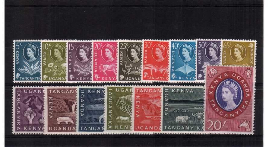 Superb unmounted mint set of sixteen.<br/><b>ZBZ</b>