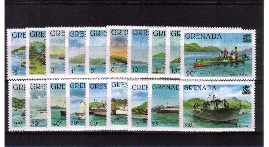 A superb unmounted mint set of nineteen.<br/>Perforation 14 - Without Imprint Date.
