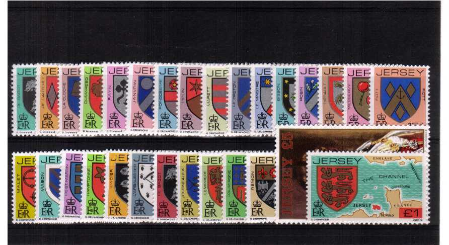 A superb unmounted mint set of twenty-nine