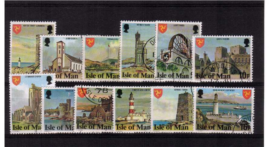 perf 14� set of 12 superb fine used