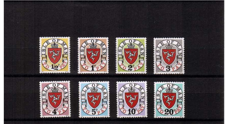 original set - superb unmounted mint set of 8