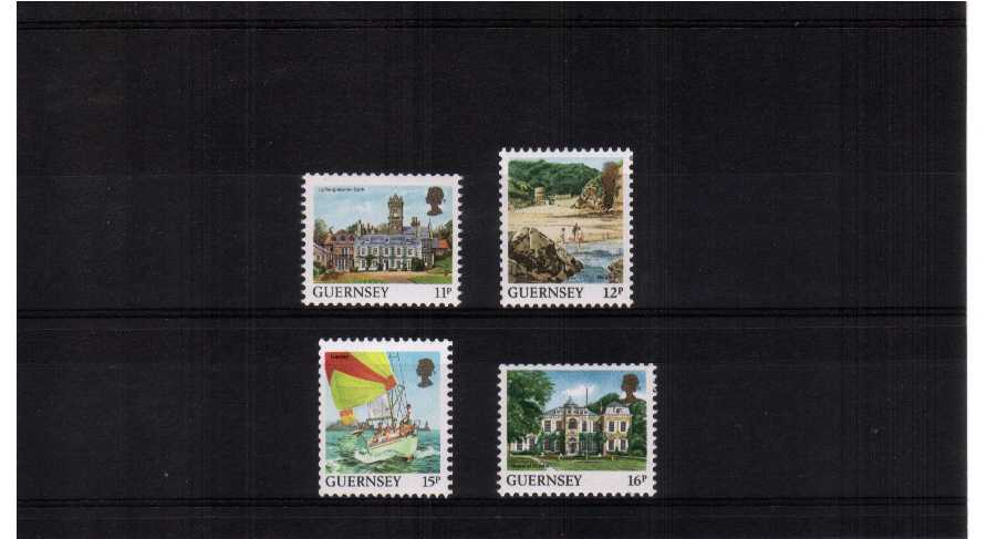 coils - superb unmounted mint set of 4