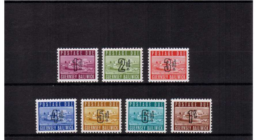 A superb unmounted mint set of seven