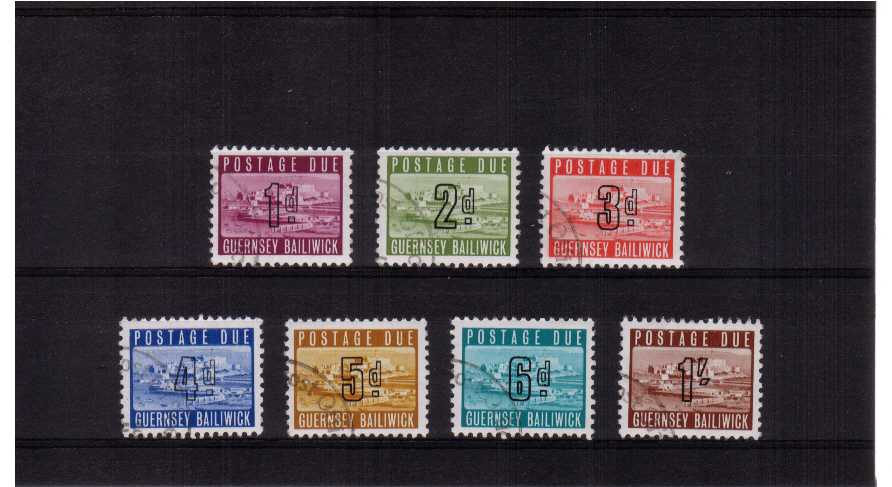 A superb fine used set of seven