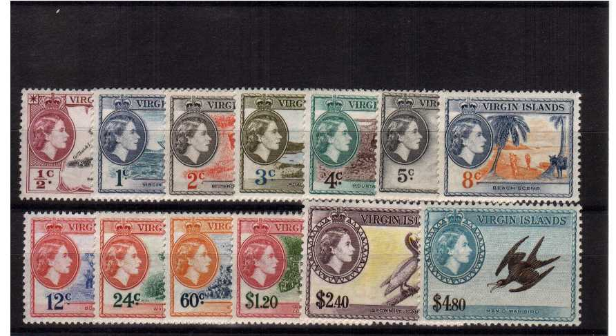 A superb unmounted mint set of thirteen. SG Cat £110<br/><b>UDX</b>