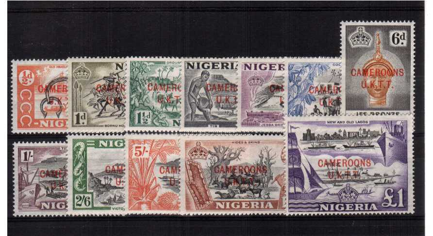 A superb unmounted mint set of twelve.<br/><b>QGQ</b>