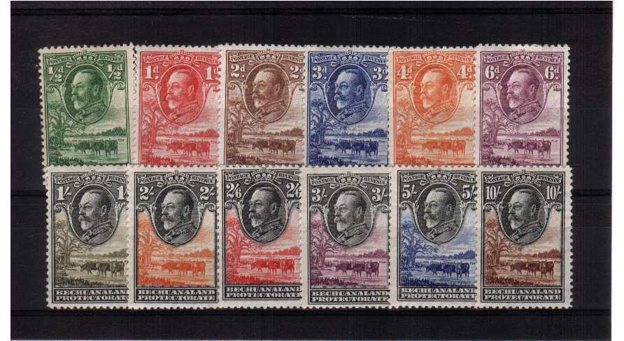 A fine very lightly mounted mint set of twelve. SG Cat £500<br/><b>QMQ.</b>