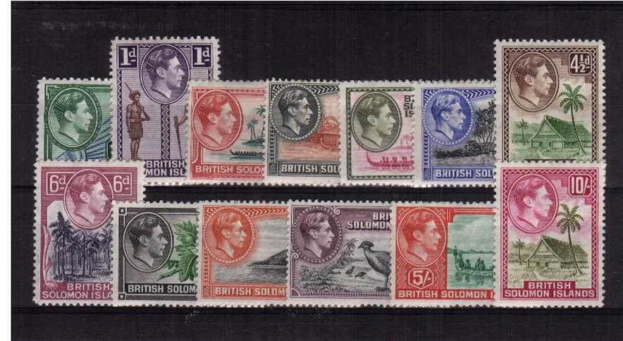 A good mounted mint complete set of thirteen.<br/><b>QDX</b>
