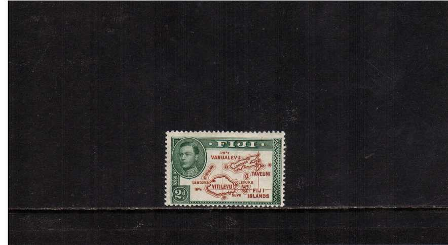 2d definitive single - Die 1 - A superb unmounted mint single