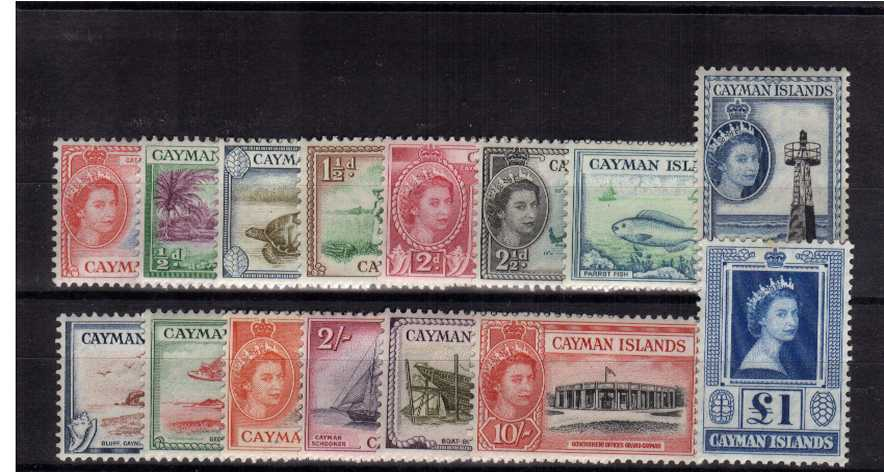 Superb unmounted mint set of fifteen.<br/><b>QMQ.</b>