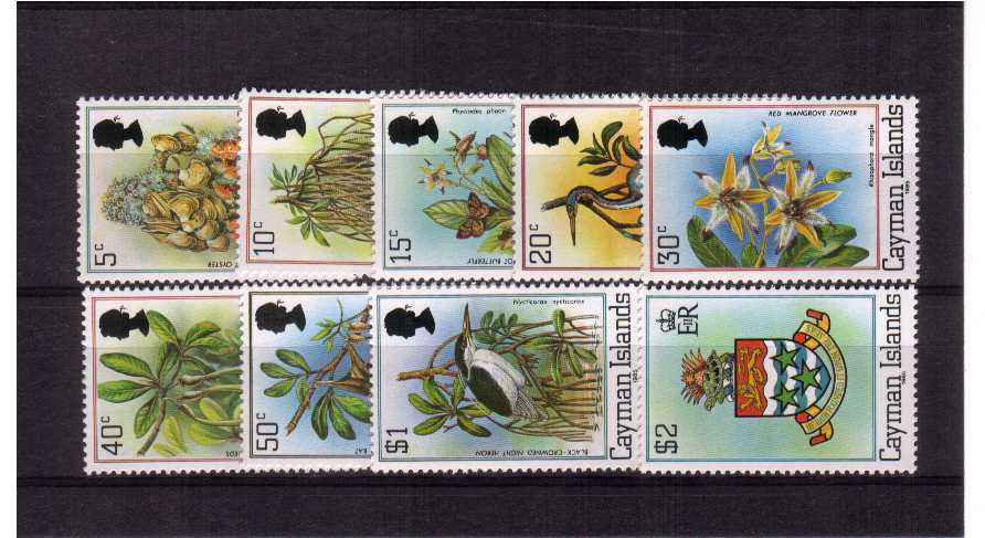 The 1985 imprint - A superb unmounted mint set of nine.