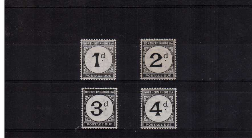 Ordinary Paper set of four superb very lightly mounted mint.<br/><br/>