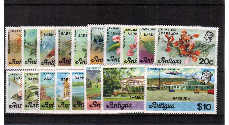 A superb unmounted mint set of eighteen.